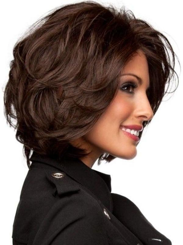 69 Gorgeous Ways To Make Layered Hair Pop Intended For Short Haircuts For Voluminous Hair (View 8 of 20)