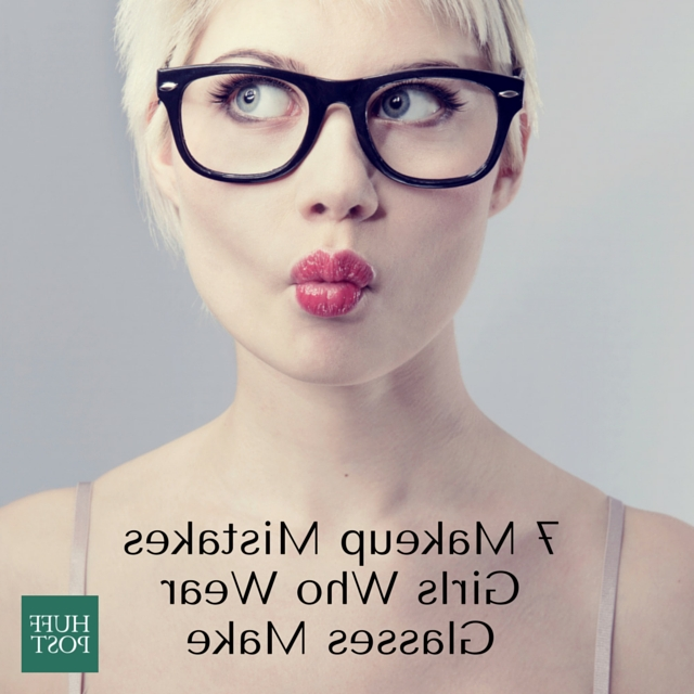 7 Essential Makeup Tips For Girls Who Wear Glasses | Huffpost In Short Hairstyles For Women Who Wear Glasses (View 17 of 20)