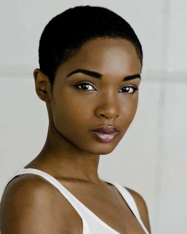 72 Short Hairstyles For Black Women With Images [2018 For African Women Short Hairstyles (Gallery 8 of 20)