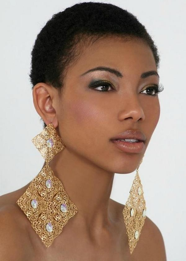 72 Short Hairstyles For Black Women With Images [2018 In African Women Short Hairstyles (Gallery 19 of 20)