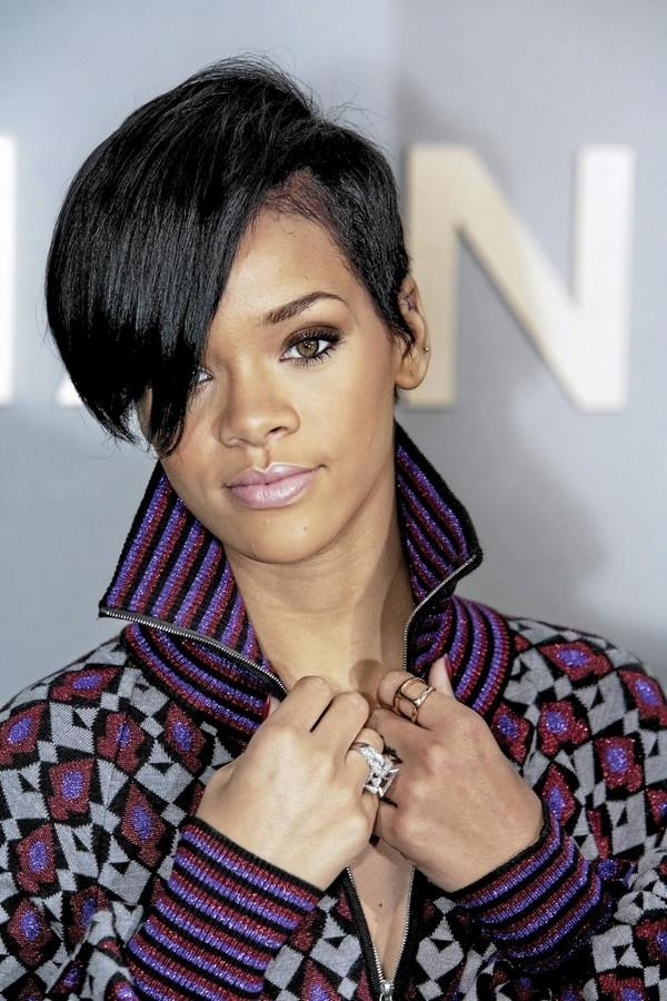 72 Short Hairstyles For Black Women With Images [2018 In Short Haircuts For Black Women With Thick Hair (Gallery 12 of 20)