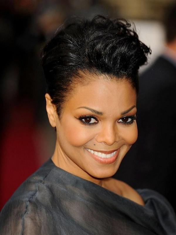 Featured Photo of Short Hairstyles For African American Women With Round Faces