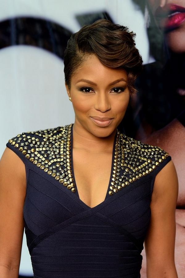 72 Short Hairstyles For Black Women With Images [2018 With Regard To Black Women With Short Hairstyles (Gallery 20 of 20)