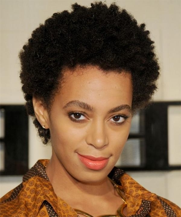 72 Short Hairstyles For Black Women With Images [2018 With Regard To Natural Short Hairstyles For Round Faces (View 7 of 20)