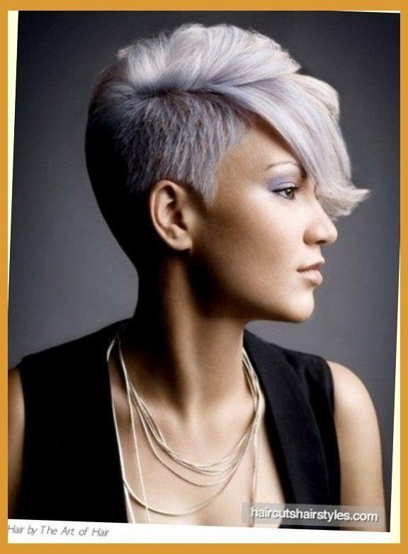 76 Best Super Short Hair Styles For Girls And Women Images On Within Part Shaved Short Hairstyles (View 13 of 20)