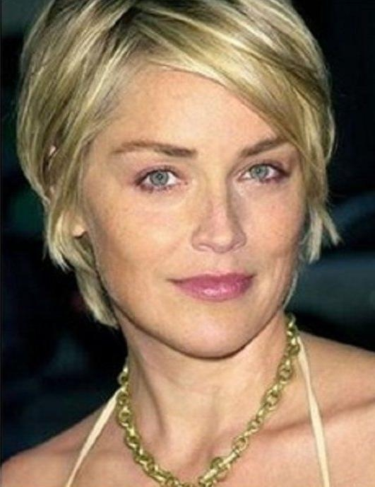 79 Best Sharon Stone Images On Pinterest | Sharon Stone, Beautiful Pertaining To Sharon Stone Short Haircuts (View 3 of 20)