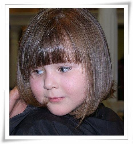 8 Best Lookbook Children's Cuts Images On Pinterest | Hairstyles Within Kids Short Haircuts With Bangs (View 7 of 20)
