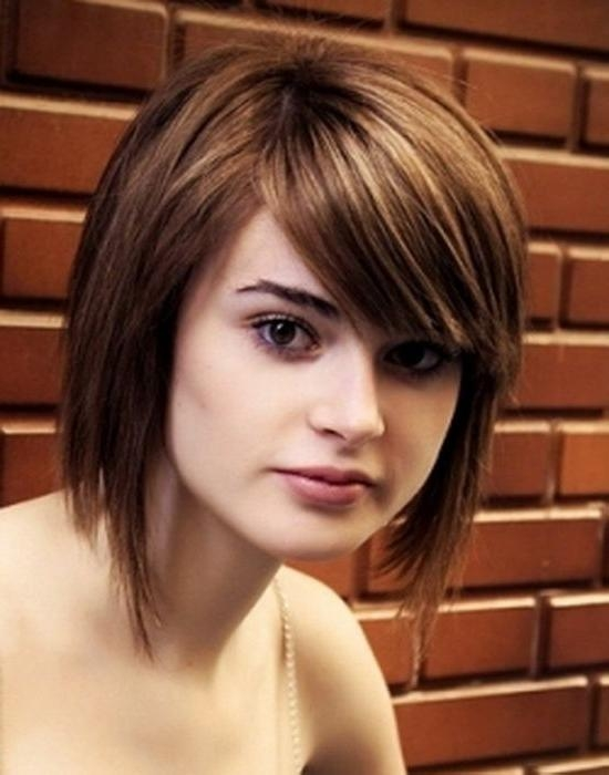 8 Best Square Shape Face Hairstyles In Girls & Women Images On With Short Hairstyles For Square Faces And Thick Hair (Gallery 8 of 20)