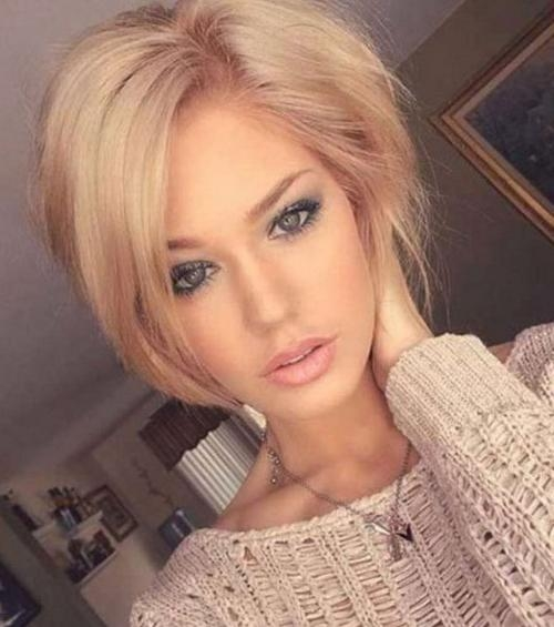 8+ Top Sassy Short Haircuts 2017 – Goostyles With Symmetrical Short Haircuts (Gallery 10 of 20)