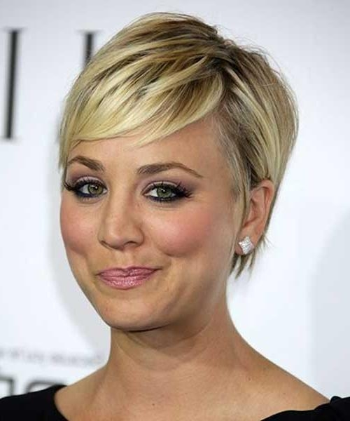 80 Best Haircuts For Short Hair | Short Hairstyles 2016 – 2017 With Kaley Cuoco New Short Haircuts (View 8 of 20)