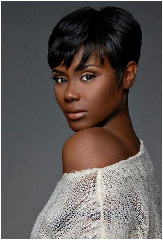 9 Best Hair Images On Pinterest | Hair, Accessories And Black Beauty In Short Haircuts For Black Women With Fine Hair (View 7 of 20)