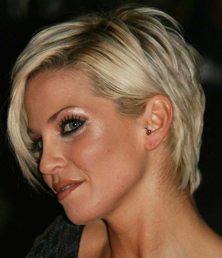 9 Best Hairstyles For Thick, Coarse Hair Images On Pinterest Regarding Short Hairstyles For Thick Hair Over  (View 12 of 20)