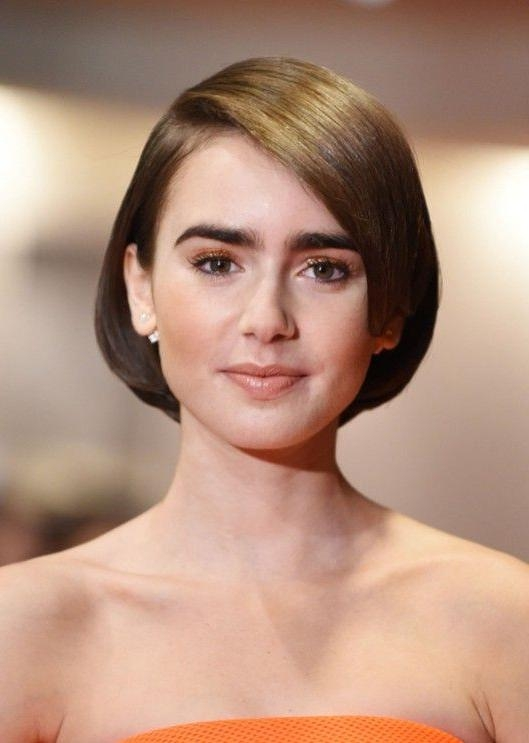 90+ Latest Best Short Hairstyles, Haircuts & Short Hair Color Throughout Short Hairstyles For High Cheekbones (Gallery 9 of 20)