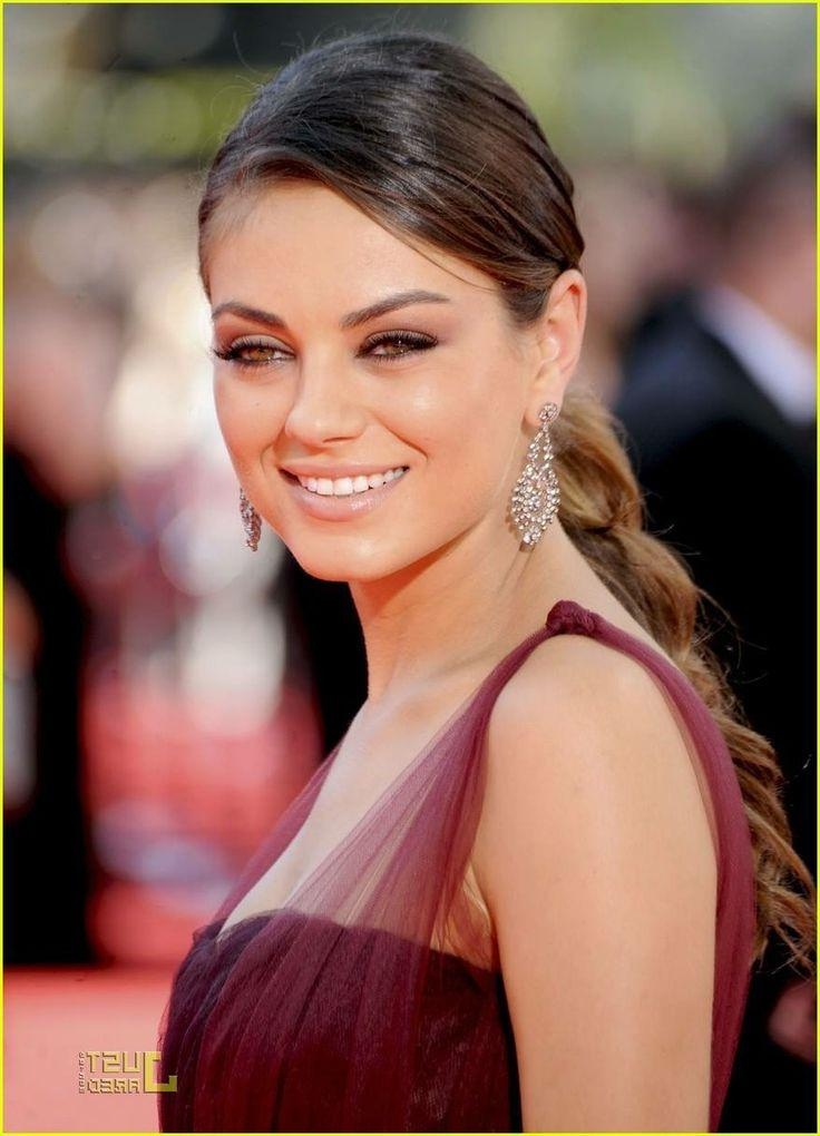 93 Best Mila Kunis Images On Pinterest | Mila Kunis, Artists And In Mila Kunis Short Hairstyles (Gallery 15 of 20)