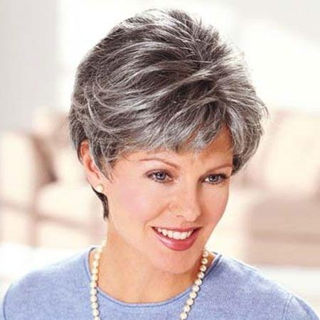 95 Best Short Hair Cuts For Gray Hair !!!! Images On Pinterest Within Short Hairstyles For Salt And Pepper Hair (View 10 of 20)