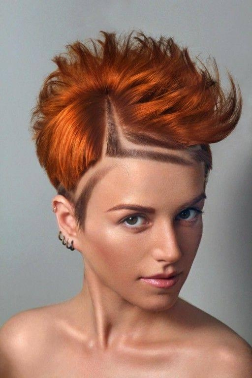 A Super Short Haircut, Shaved Sides | Hairstyles | Hair Photo For Short Haircuts With Shaved Sides (View 13 of 20)