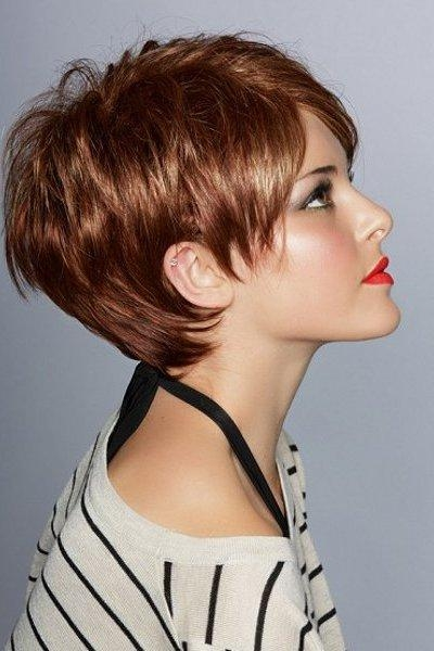 Adorable Short Hairstyles For Round Face For Short Short Haircuts For Round Faces (View 14 of 20)