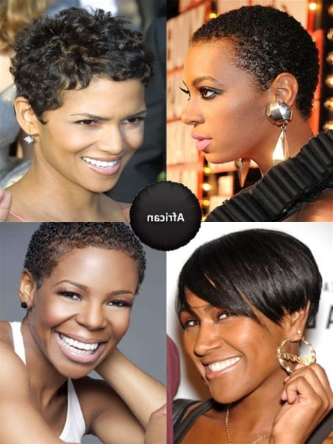 African American Short Hairstyles – Featuring Photos & Wigs Pertaining To African American Ladies Short Haircuts (View 10 of 20)