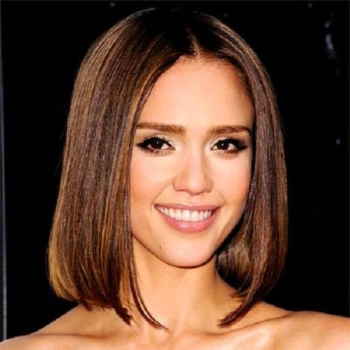 Alba Short Hairstyles Bob With Jessica Alba Short Haircuts (View 15 of 20)