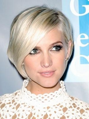 Ashlee Simpson – 12 Celebrities With Short Hair | Hairstylescut Regarding Ashlee Simpson Short Hairstyles (View 1 of 20)