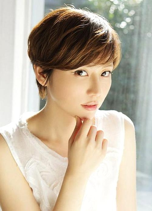 Best Ideas Of Short Hairstyles For Asian Round Face