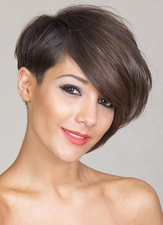 Asymmetric Short Haircut | Styles Weekly Within Asymmetrical Short Haircuts For Women (View 7 of 20)