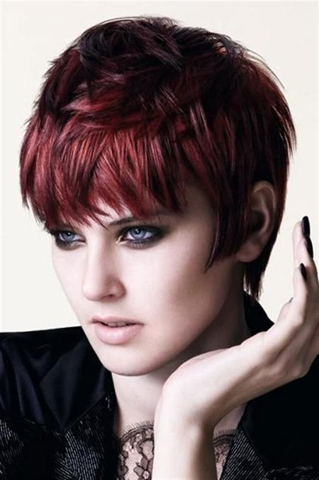 Auburn Hair Color For Short Haircuts – Page 2 – Best Hair Color In Short Haircuts With Red Color (View 4 of 20)