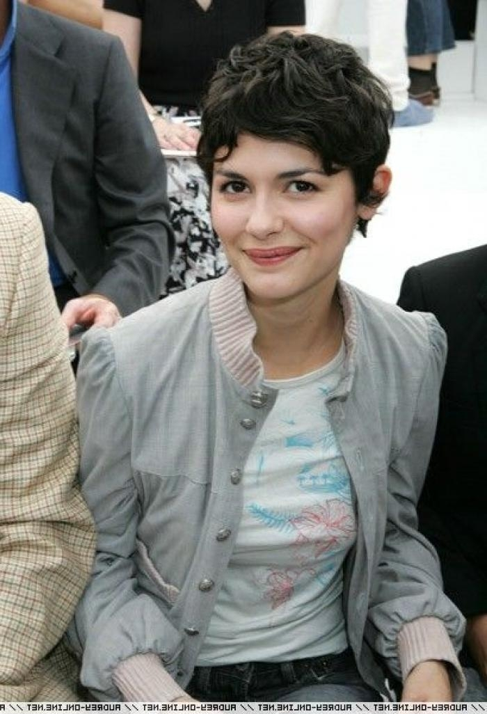 Audrey Tautou Short Hair Style Pic 2 | Amelie Ingenue With The In Audrey Tautou Short Haircuts (View 11 of 20)
