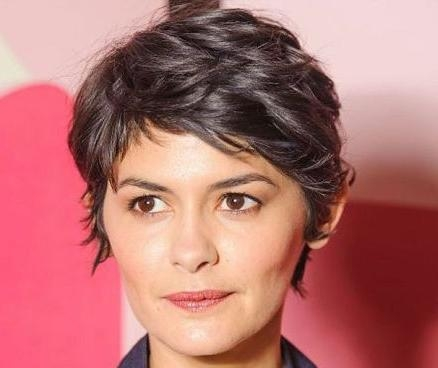 Audrey Tautou Short Hairstyle – Casual, Summer, Everyday Throughout Audrey Tautou Short Haircuts (View 12 of 20)