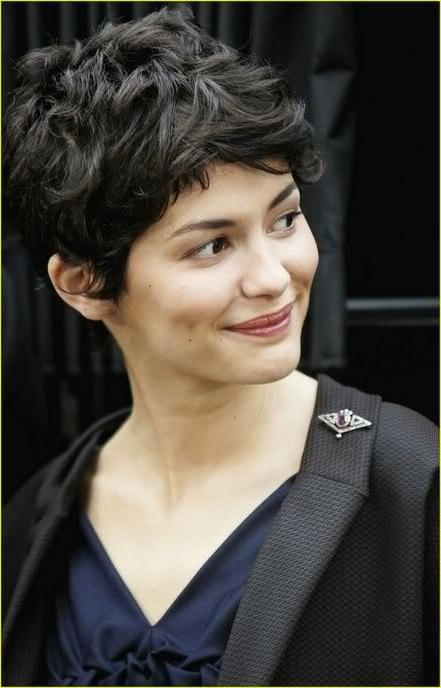 Audrey Tautou – Short Wavy Hair Cut Embrace Your Beauty! Dianne With Audrey Tautou Short Haircuts (View 7 of 20)