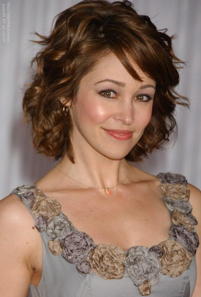 Autumn Reeser | Medium Length Hairstyle For Women With A Petite For Short Hairstyles For Petite Faces (View 12 of 20)