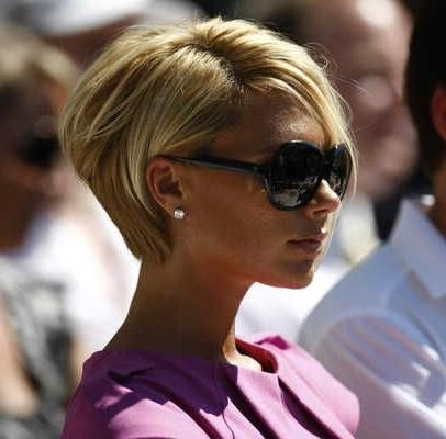 Back+View+Of+Short+Haircuts | Victoria Beckham At David Beckham's Inside Posh Short Hairstyles (View 13 of 20)