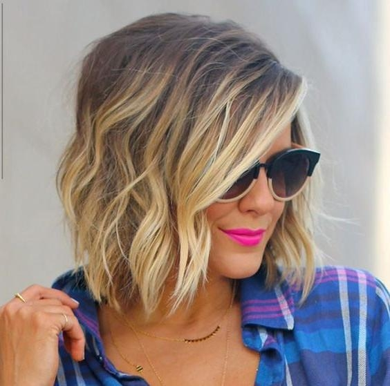 Balayage Hairstyles For Short Length Hair Throughout Short Hairstyles With Balayage (View 10 of 20)