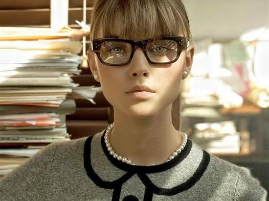 Bangs And Glasses Hairstyle Ideas – Hair World Magazine With Regard To Short Haircuts With Bangs And Glasses (View 4 of 20)