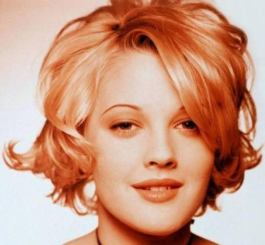 Barrymore Trendy Short Hairstyle Within Drew Barrymore Short Hairstyles (View 2 of 20)