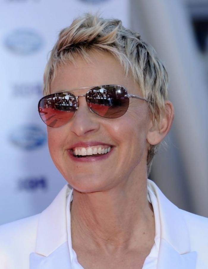 Beautiful Short Hairstyles For Women Over 60 – Short Hairstyles 2018 Pertaining To Short Haircuts For Women Who Wear Glasses (View 10 of 20)