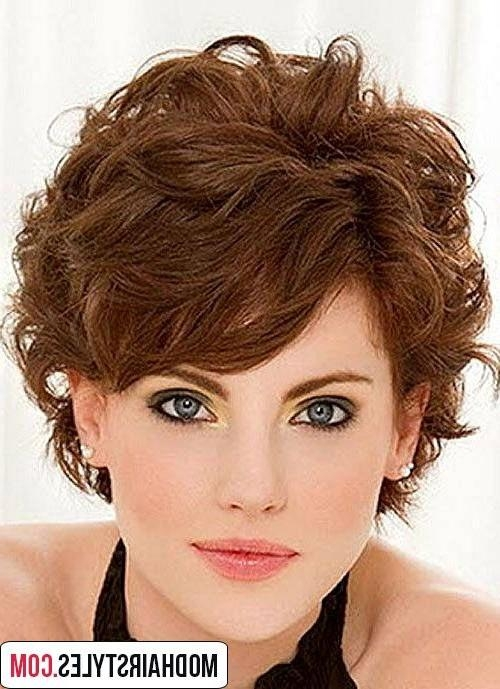Best 20 Short Wavy Hairstyle Ideas | Shirleykhoward@gmail Inside Short Haircuts For Wavy Frizzy Hair (View 11 of 20)