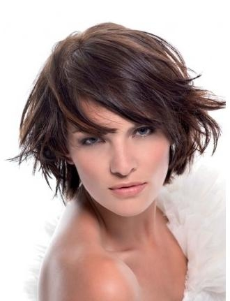 Best 2014 Hairstyles: Best New Short Hairstyles Wispy Bangs Inside Short Haircuts With Wispy Bangs (View 20 of 20)