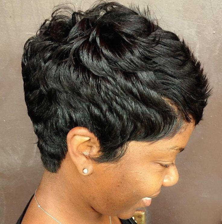 Best 25+ African American Short Hairstyles Ideas On Pinterest With Regard To Short Haircuts For Black (View 10 of 20)