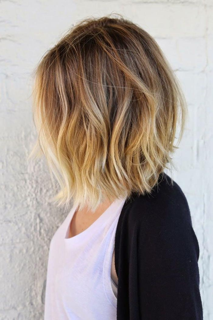 Best 25+ Balayage Short Hair Ideas On Pinterest | Short Balayage Inside Short Hairstyles With Balayage (View 12 of 20)