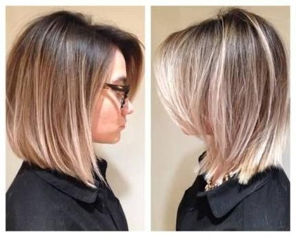 Best 25+ Balayage Short Hair Ideas On Pinterest | Short Balayage Pertaining To Short Hairstyles With Balayage (View 14 of 20)