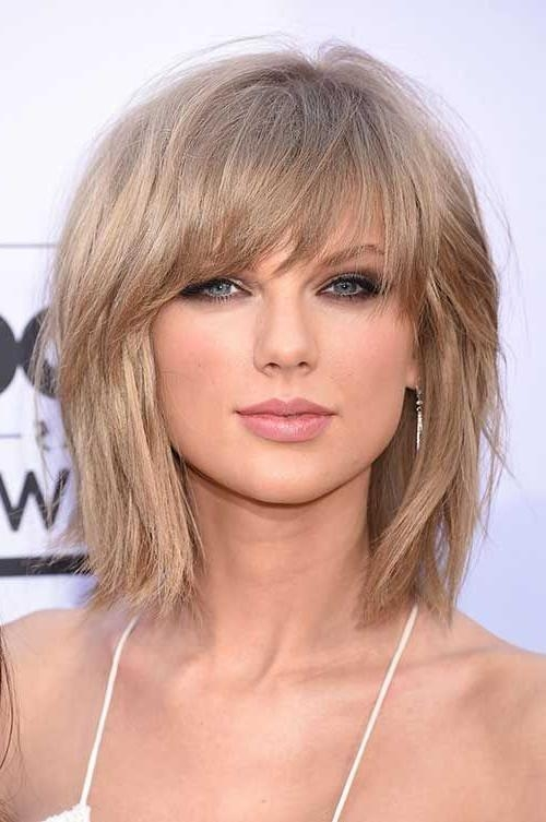 haircuts ideas for medium hair 2018 popular haircuts with bangs 5124