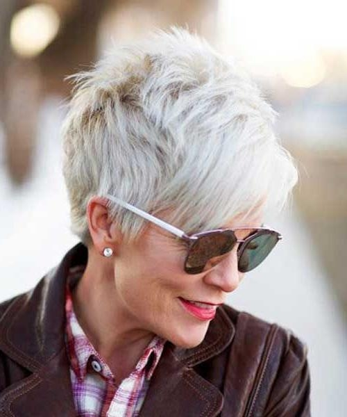 Best 25+ Best Short Haircuts Ideas On Pinterest | Best Short Hair Pertaining To Short Haircuts For Women Who Wear Glasses (View 11 of 20)