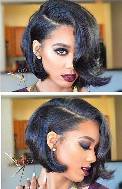 Best 25+ Black Bob Hairstyles Ideas On Pinterest | Graduated Bob In Black Bob Short Hairstyles (View 9 of 20)