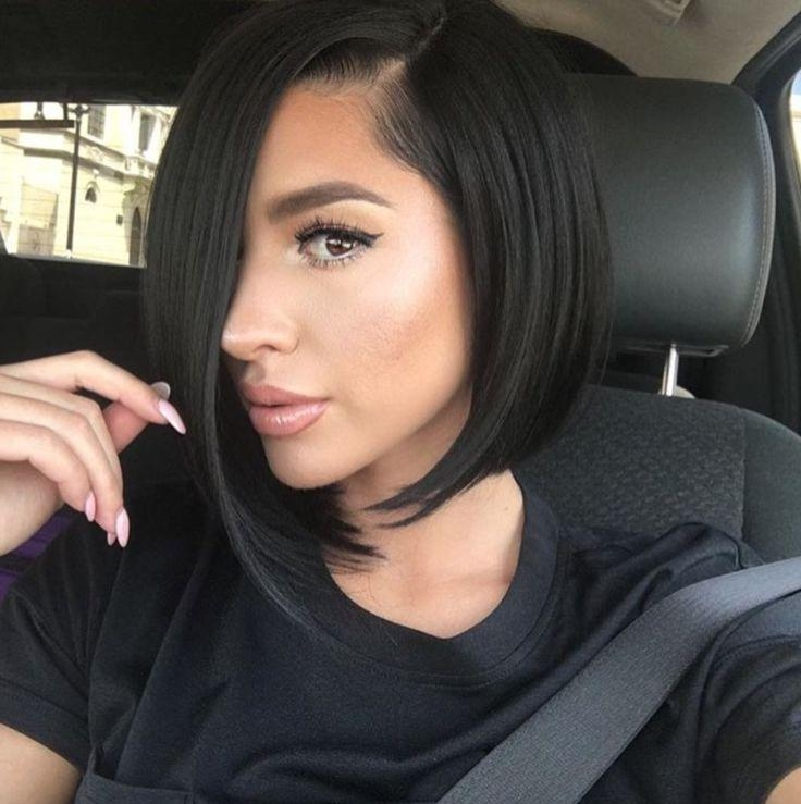 Best 25+ Black Bob Hairstyles Ideas On Pinterest | Graduated Bob With Regard To Black Bob Short Hairstyles (View 13 of 20)