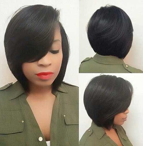 Best 25+ Black Bob Hairstyles Ideas On Pinterest | Graduated Bob With Regard To Bob Short Hairstyles For Black Women (View 14 of 20)