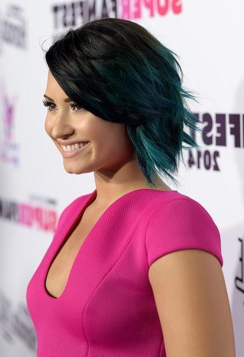 Best 25+ Demi Lovato Short Hair Ideas On Pinterest | Demi Lovato In Demi Lovato Short Hairstyles (View 10 of 20)