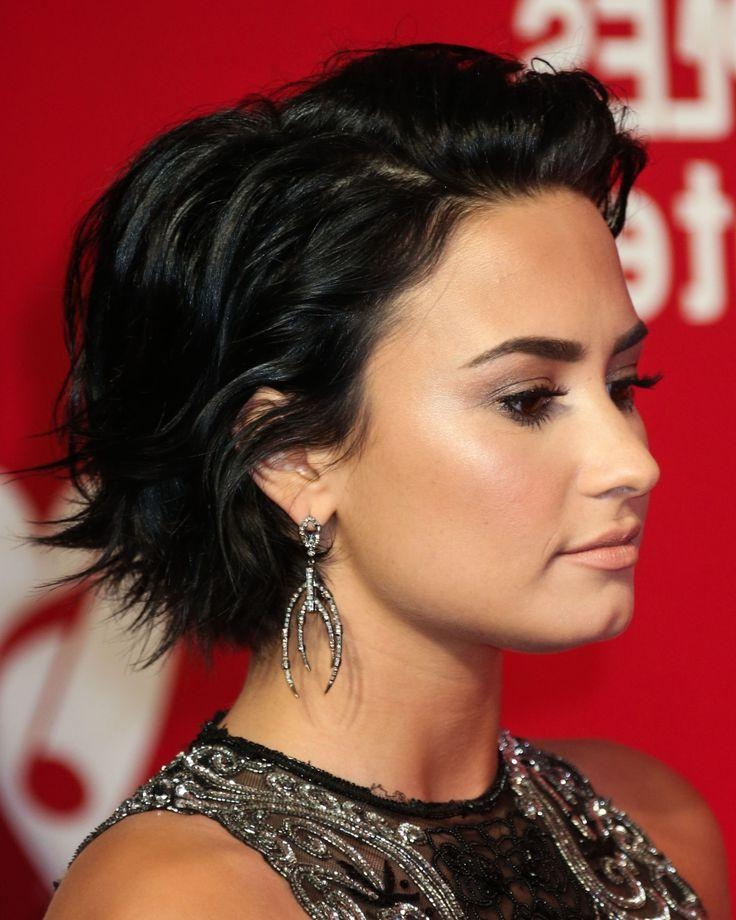 Best 25+ Demi Lovato Short Hair Ideas On Pinterest | Demi Lovato Within Demi Lovato Short Hairstyles (View 9 of 20)