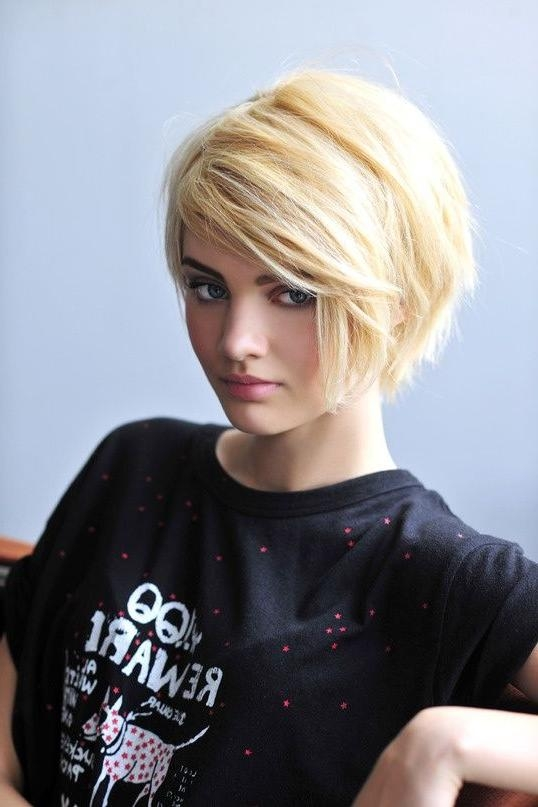 Best 25+ Edgy Short Haircuts Ideas On Pinterest | Edgy Short Hair Inside Edgy Short Haircuts For Thick Hair (View 3 of 20)