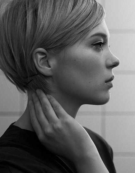 Best 25+ Feminine Pixie Cuts Ideas On Pinterest | Short Feminine With Regard To Feminine Short Haircuts (View 5 of 20)